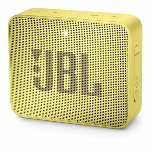 Caixa de som JBL Go 2 portátil com bluetooth lemonade yellow