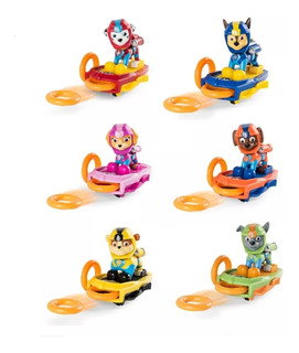Paw Patrol Launching Surfboard Marshall Rubble Skye Chase Zu