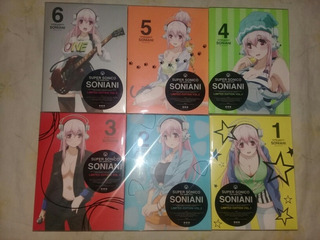Dvd Super Sonico Anime Original Japon