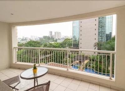 Apartamento Em Brooklin, São Paulo/sp De 75m² 2 Quartos Para Locação R$ 5.700,00/mes - Ap218095