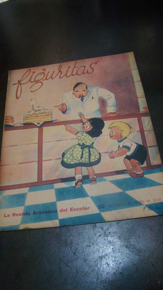 Figuritas - Revista Antiga Argentina - 10/04/1942 - Raro
