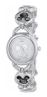 Reloj Disney Mickey Mouse Para Mujeres Esfera Nacarada