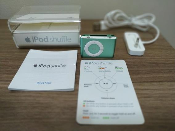 Apple iPod Nano Shuffle 2ªgeração 1gb Cabo E Caixa Originais