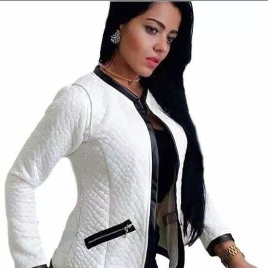 Blazer Feminino Jaquetinha Jacaquard Metelasse Casaco Frio