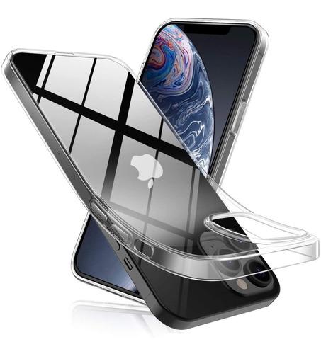 Carcasa iPhone 12 Pro Max Estuche Flexigel Ultradelgada Tpu