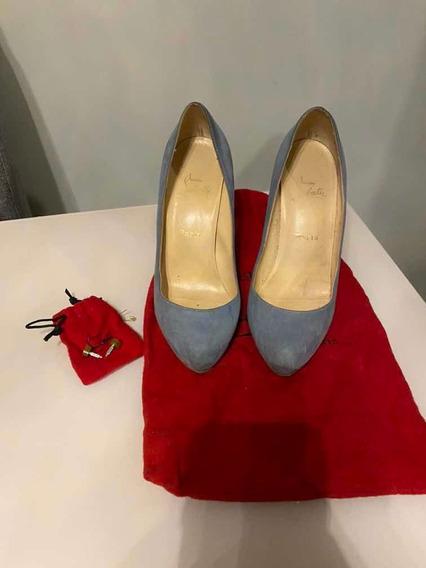 Sapato Louboutin Original Usado