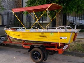 Bote Pesca Deportiva Con Motor Y Carro (se Reciben Ofertas)