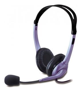 Auricular C/ Mic Genius Hs 04s Vincha Skype Videoconferencia