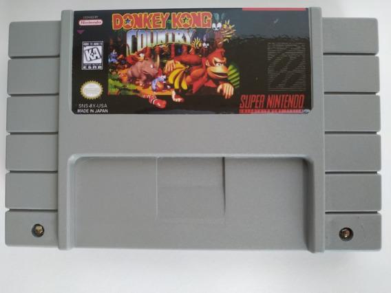 Donkey Kong Country Português Salvando Super Nintendo Snes