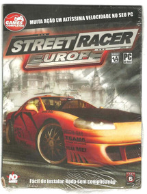 Pc Game - Street Racer Europe - Novo - Lacrado- Veja O Vídeo