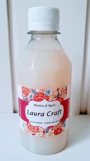 Resina Al Agua (tipo Vidrio Liquido) Laura Craft De 250cc
