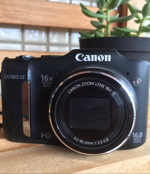 Câmera Digital Canon Powershot Sx160is