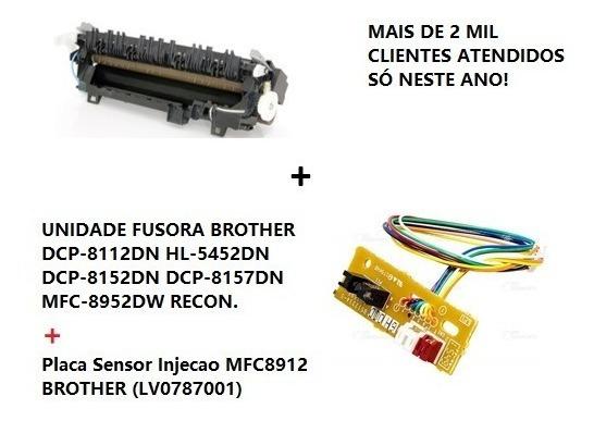 Fusor Brother Rec. 8112 8152 8157 5452 + Placa Sensor 8912