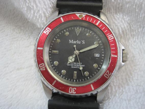 Marlus Jaguar Submarine, Quartz, Caixa Com 39mm, Exc. Diver