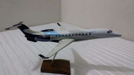 Miniatura De Avião Legacy 600