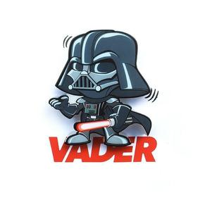 Mini Luminária 3d Light Fx Star Wars Darth Vader
