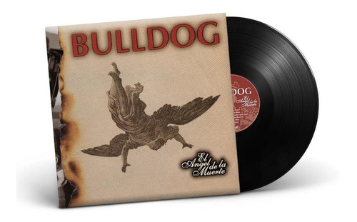 Vinilo Lp  Bulldog   El Angel De La Muerte  + Poster