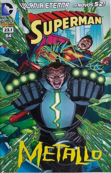 Superman #23.1 Vilania Eterna Metallo Crosstore