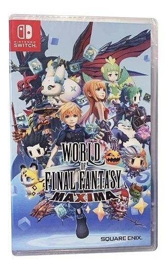 World Of Final Fantasy Maxima - Switch Lacrado