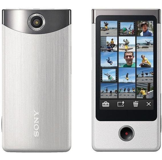 Sony Mhs-ts20 8gb Câmera Bloggie Touch (prata)