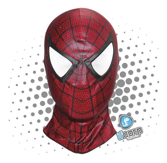 Mascara Spider Man Spiderman Hombre Araña Adulto Marvel