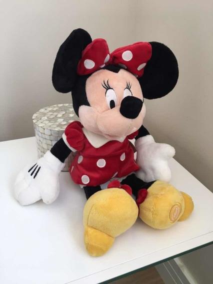 Pelúcia Da Disney Minnie Original 45 Cm