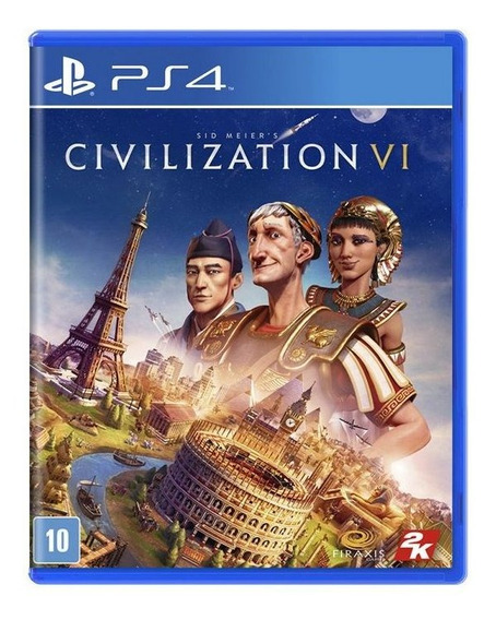 Jogo Mídia Física Sid Meiers Civilization Vi Para Ps4