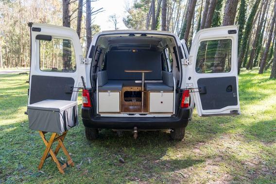 Camper Box Kangoo, Partner Y Otros Utilitarios Monovolumen