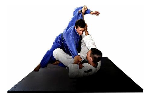 Tapete Eva Tatame Preto Luta/jiu-jitsu 1,00x1,00x20mm 4 Pçs