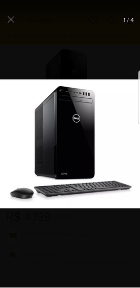 Computador Dell Xps 8930-m25 Ci5 8g 1tb Gtx1050ti Win10