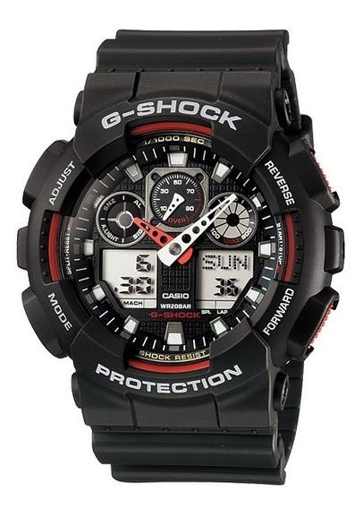 Relógio Casio G-shock Ga100 1a4 Original