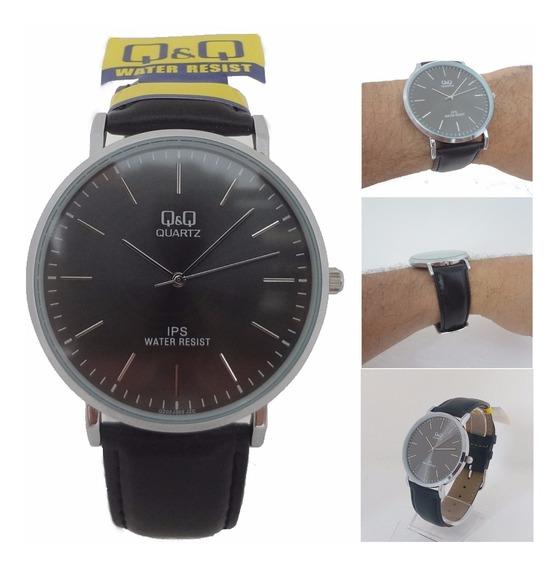 Relógio Masculino Qq Quartz Original 12x S/juros Fret Gratis