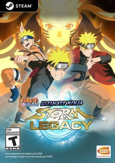 Naruto Shippuden Ultimate Ninja Storm Legacy Pc Steam