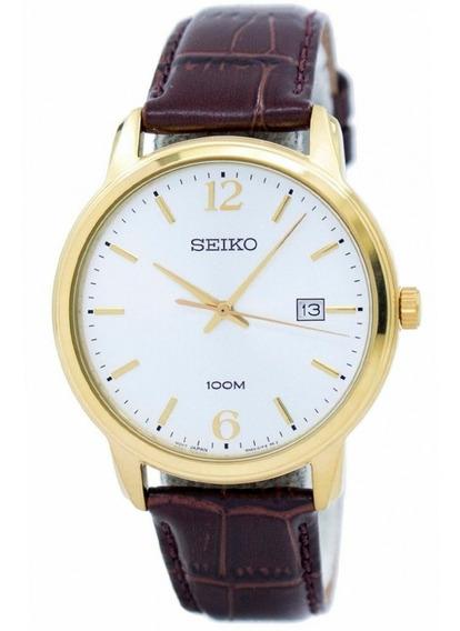 Relógio Seiko Masculino Marrom Sur266b1 B2nx