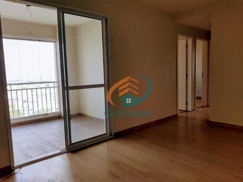 Apartamento Com 3 Dormitórios À Venda, 72 M² Por R$ 455.000,00 - Vila Leonor - Guarulhos/sp - Ap3622