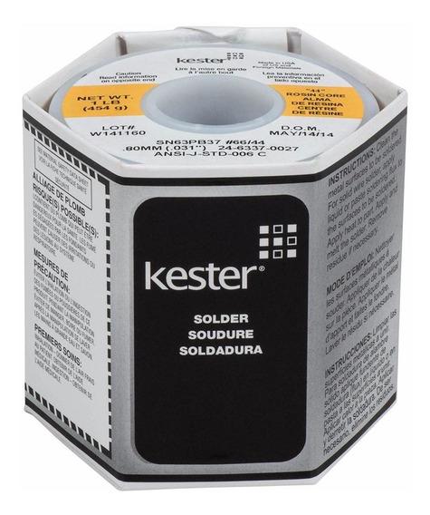 Metro Estaño Kester 66/44 0.8mm Extra Fino 63/37 Sn63pb37