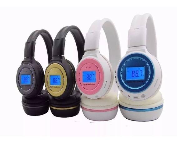 Fone De Ouvido Bluetooth Headphone Micro Sd N65 P2 Radio Fm