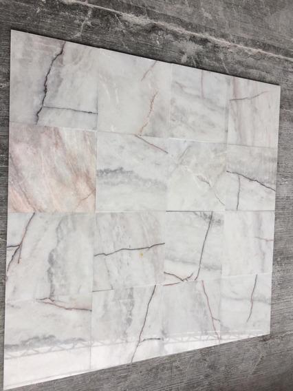 Marmol Blanco Grano Fino 40x40x1cm Brillado $200 Pesos M2