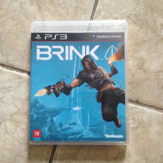 Jogo Ps3 Brink Blu-ray Disc .