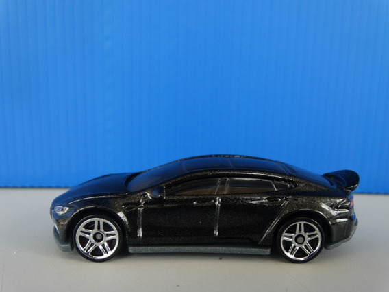 Tesla Model S Preto - Hot Wheels 2017 - 1:64 Loose