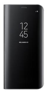 Samsung Galaxy A7 2018 Flip Cover Clear View Stand | Kyrios