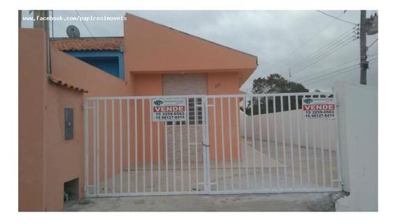Casa Para Venda Em Tatuí, Parque São Rafael, 2 Dormitórios, 1 Banheiro, 3 Vagas - 425