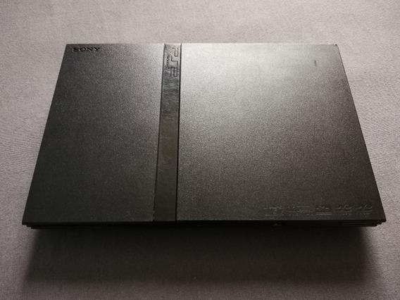 Somente O Console Ps2 Slim Scph-75003 Funcionando, Usado