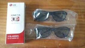 2 Oculos 3d Glasses Lg Nunca Usados