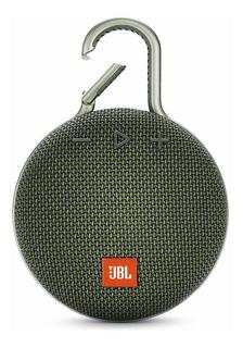 Parlante JBL Clip 3 portátil inalámbrico Forest green