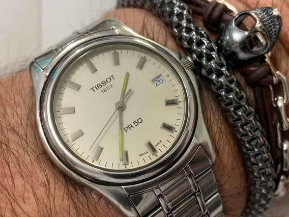 Tissot 1853 Pr50 Quartz Sapphire Wr50m Swiss Made