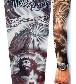 1 Peça Manga Tatuagem Falsa Fake Tattoo * Jesus