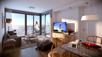 Apartamentos 1, 2 Y 3 Dormitorios A Estrenar Rambla Centro
