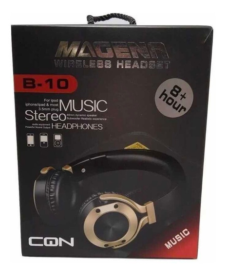 Fone De Ouvido Bluetooth Wireless Headset B-10 Sem Ruidos