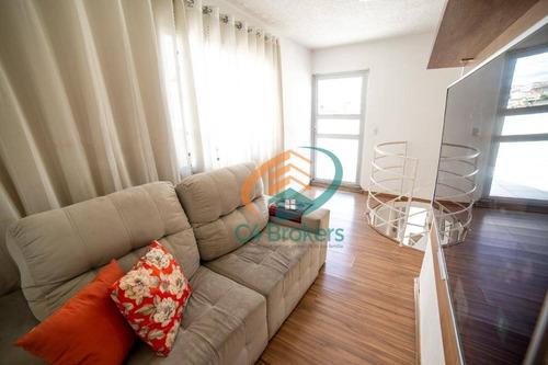 Imagem 1 de 26 de Apartamento Duplex Com 2 Dormitórios À Venda, 80 M² Por R$ 320.000,00 - Jardim São Domingos - Guarulhos/sp - Ad0012